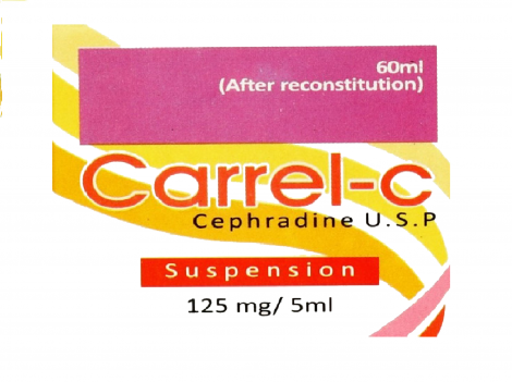 CARREL-C 125mg Dry Suspension
