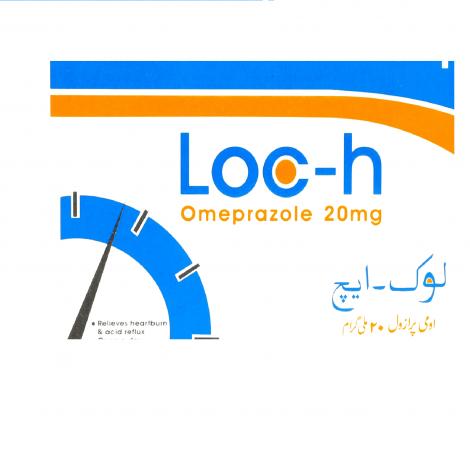 LOC-H 20mg Capsules