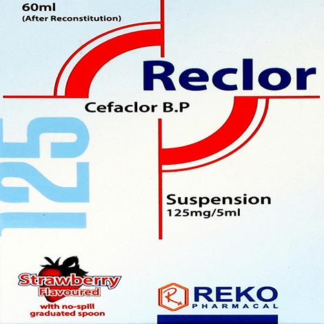 RECLOR 125mg dry suspension