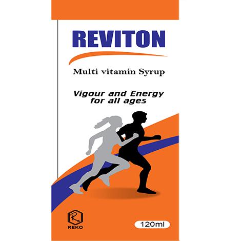 REVITON 120ml Syrup
