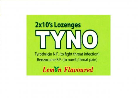 TYNO Lozenges Lemon