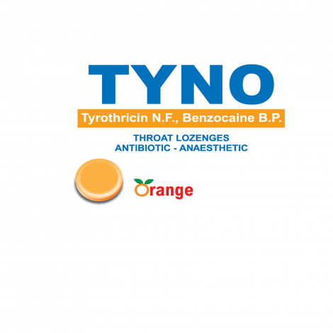 TYNO Lozenges Orange