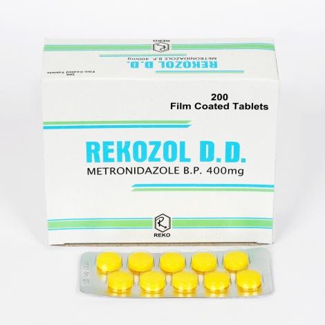 REKOZOL – DD 400mg Tablet